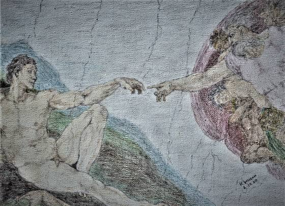 Image of The Creation of Adam